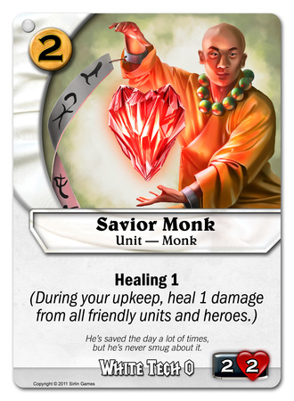 Savior Monk