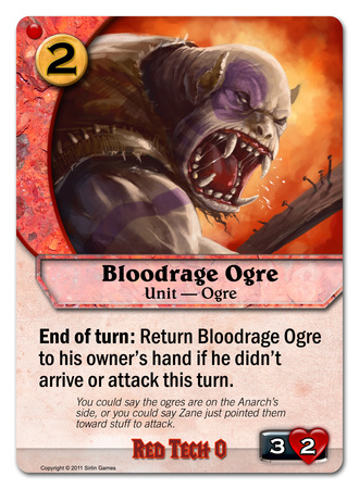 Bloodrage Ogre