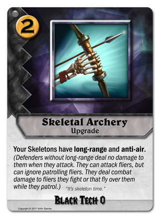 Skeletal Archery