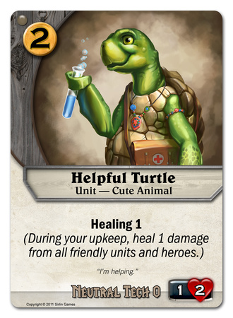 Helpful Turtle