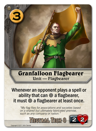 Granfalloon Flagbearer