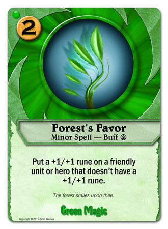 Forest's Favor