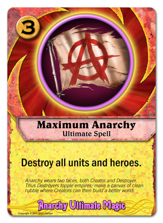 Maximum Anarchy