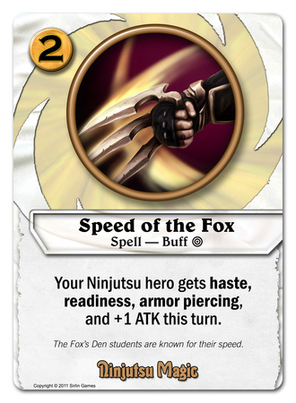 Speed of the Fox