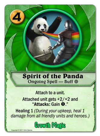 Spirit of the Panda