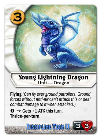 Young Lightning Dragon