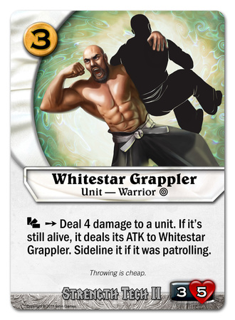 Whitestar Grappler