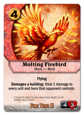 Molting Firebird