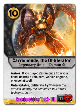 Zarramonde, the Obliterator