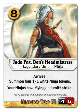 Jade Fox, Den's Headmistress