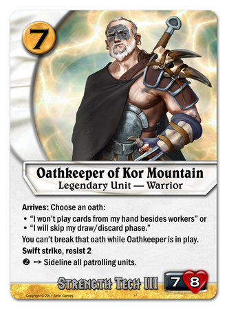 Oathkeeper of Kor Mountain